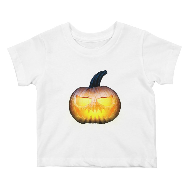 PumpKin 4 Kids Baby T-Shirt by ratherkool's Artist Shop