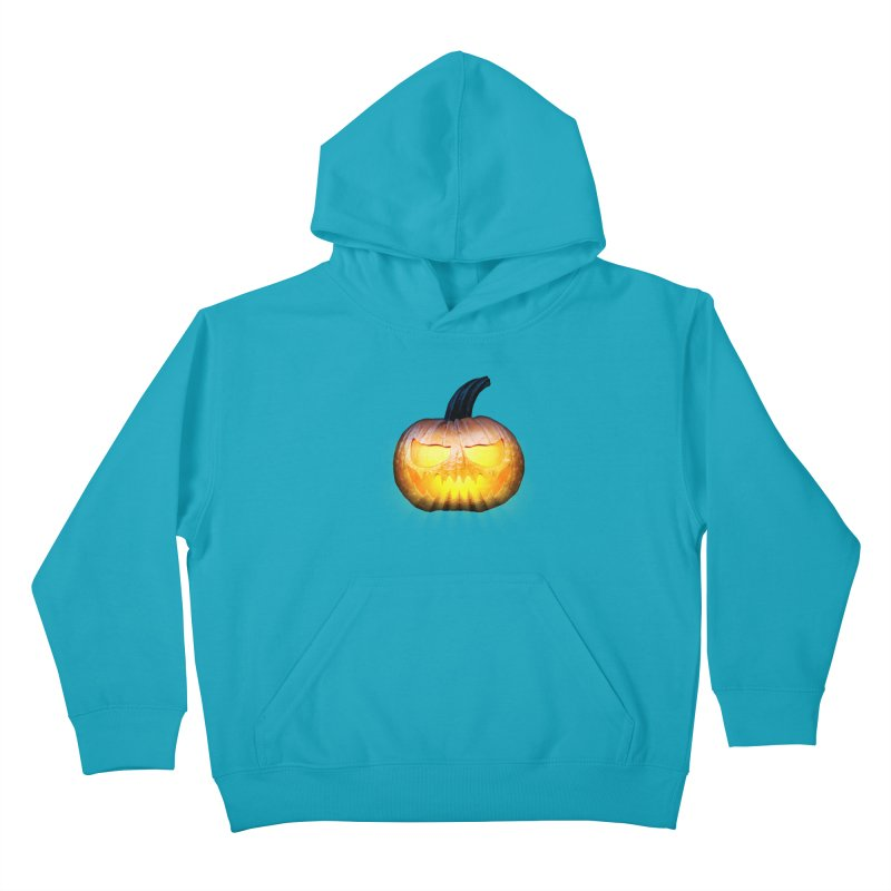 PumpKin 4 Kids Pullover Hoody by ratherkool's Artist Shop