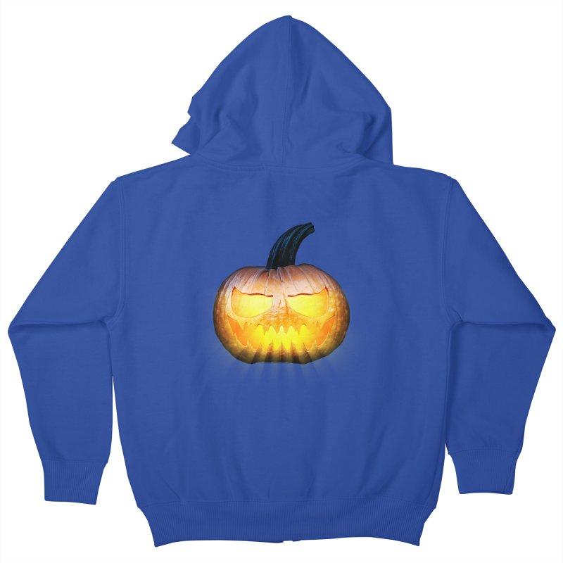 PumpKin 4 Kids Zip-Up Hoody by ratherkool's Artist Shop