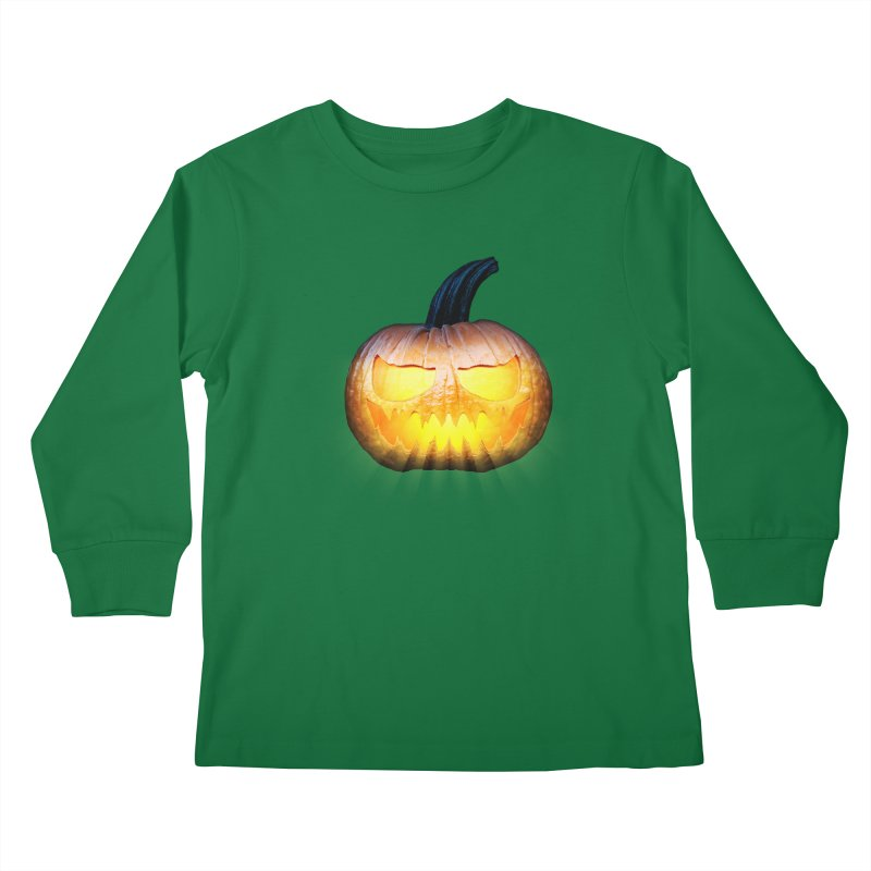 PumpKin 4 Kids Longsleeve T-Shirt by ratherkool's Artist Shop