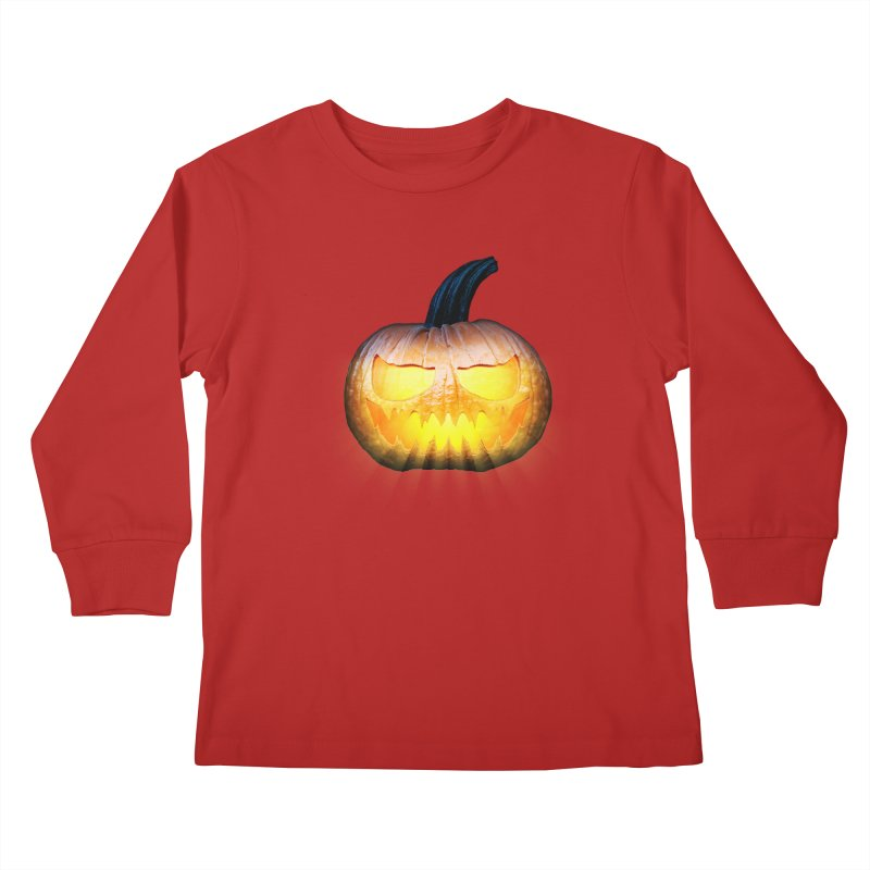 PumpKin 4 Kids Longsleeve T-Shirt by ratherkool's Artist Shop