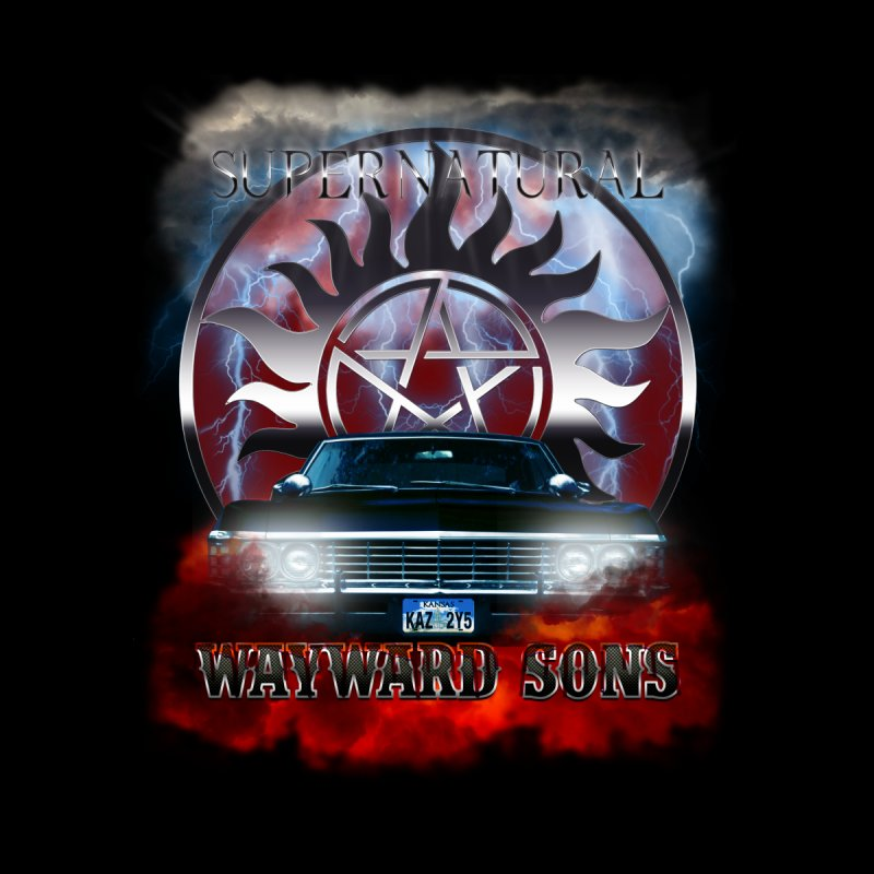 Supernatural WayWard Sons Theme Women's Baseball Triblend T-Shirt by ratherkool's Artist Shop