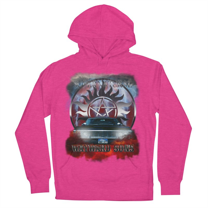 Supernatural WayWard Sons Theme Women's Pullover Hoody by ratherkool's Artist Shop