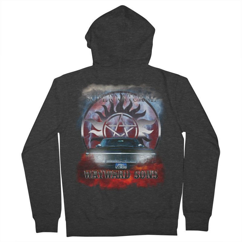 Supernatural WayWard Sons Theme Men's Zip-Up Hoody by ratherkool's Artist Shop