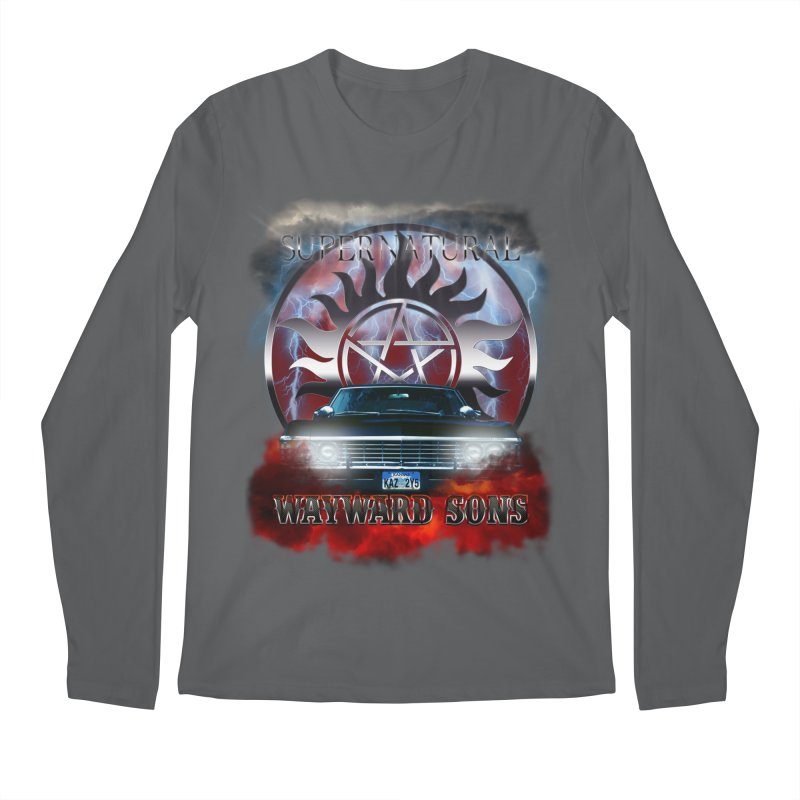 Supernatural WayWard Sons Theme Men's Longsleeve T-Shirt by ratherkool's Artist Shop