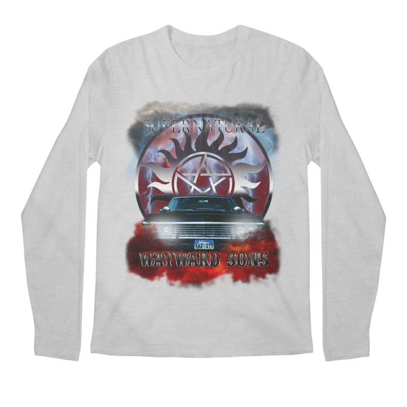 Supernatural WayWard Sons Theme Men's Longsleeve T-Shirt by ratherkool's Artist Shop