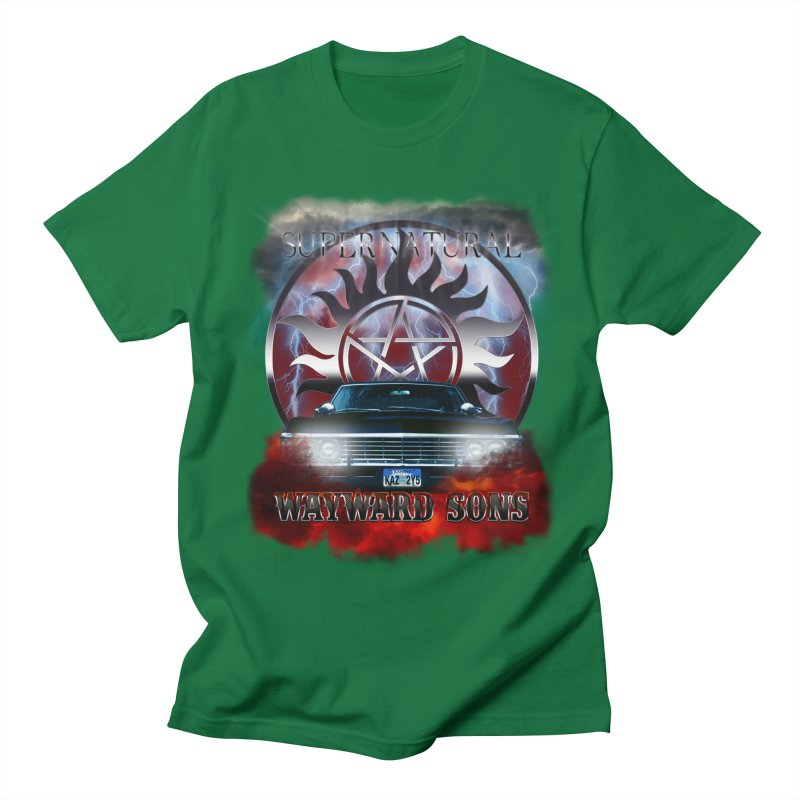 Supernatural WayWard Sons Theme Men's T-Shirt by ratherkool's Artist Shop