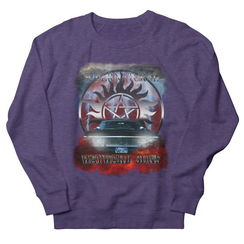 Supernatural WayWard Sons Theme Men's Sweatshirt by ratherkool's Artist Shop