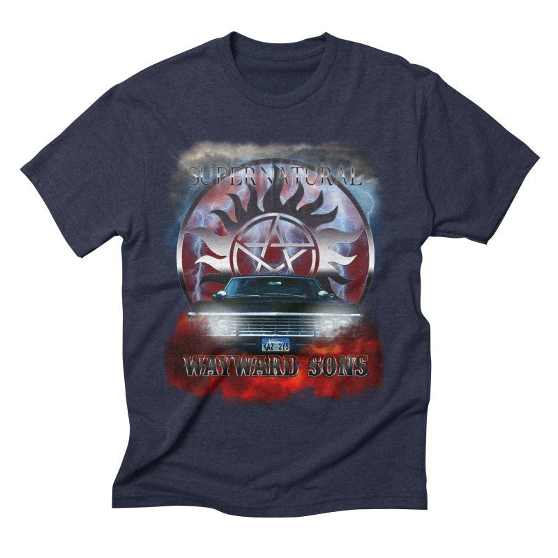 Supernatural WayWard Sons Theme Men's Triblend T-Shirt by ratherkool's Artist Shop