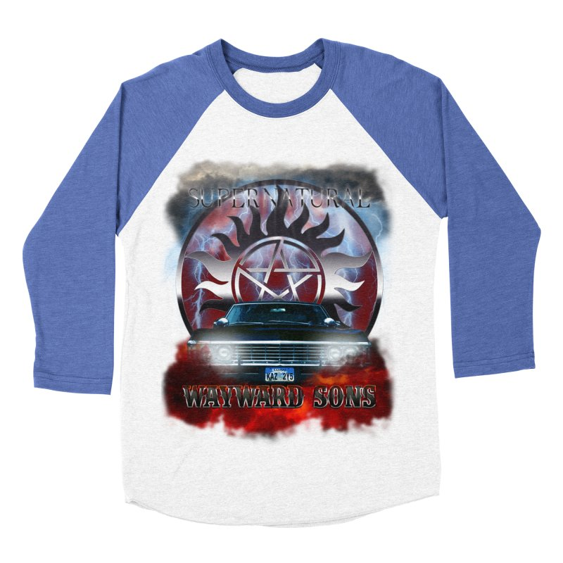 Supernatural WayWard Sons Theme Women's Baseball Triblend T-Shirt by ratherkool's Artist Shop