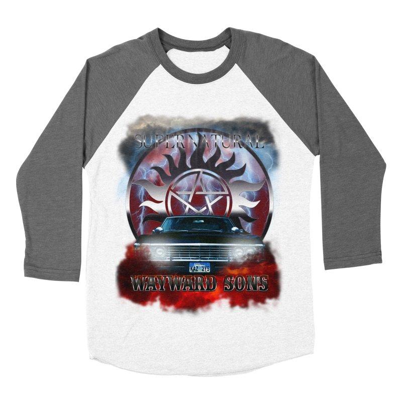 Supernatural WayWard Sons Theme Women's Longsleeve T-Shirt by ratherkool's Artist Shop