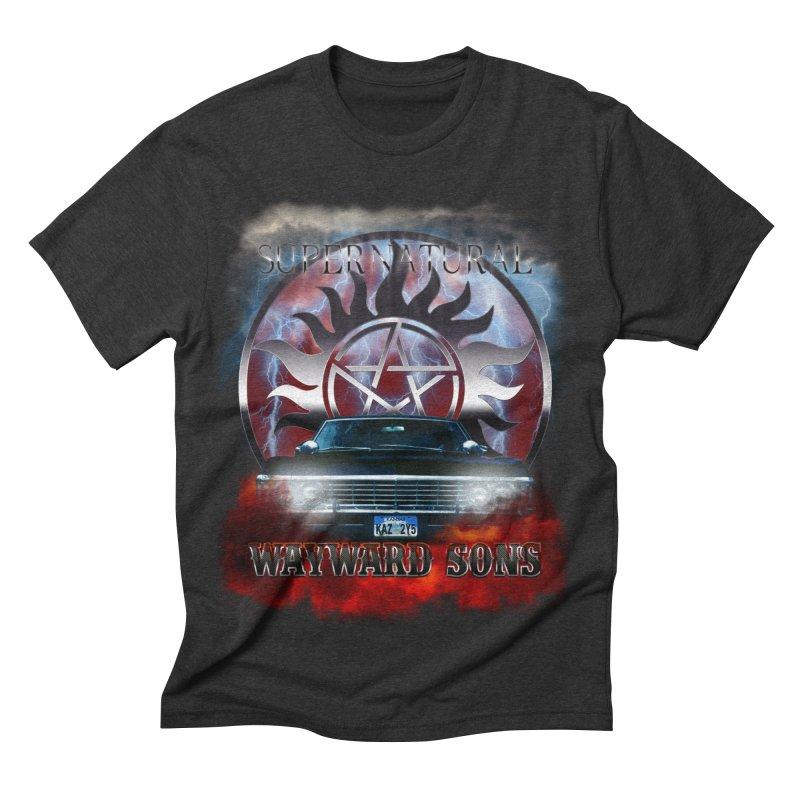 Supernatural WayWard Sons Theme Men's Triblend T-shirt by ratherkool's Artist Shop