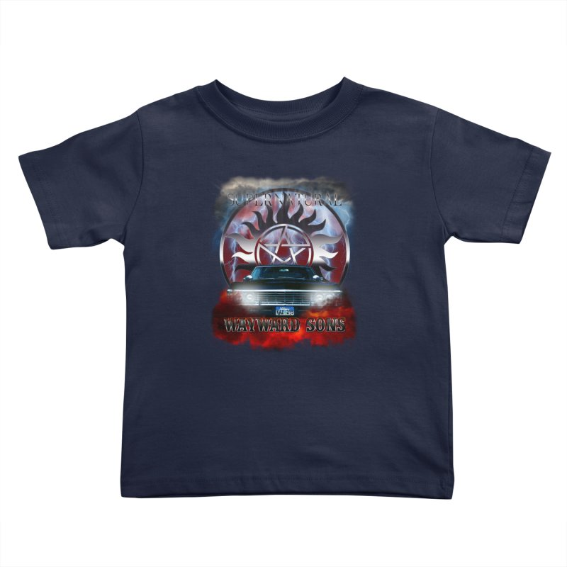 Supernatural WayWard Sons Theme Kids Toddler T-Shirt by ratherkool's Artist Shop