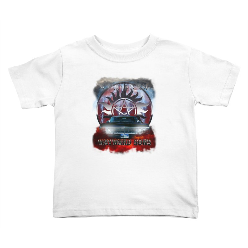 Supernatural WayWard Sons Theme Kids Toddler T-Shirt by ratherkool's Artist Shop