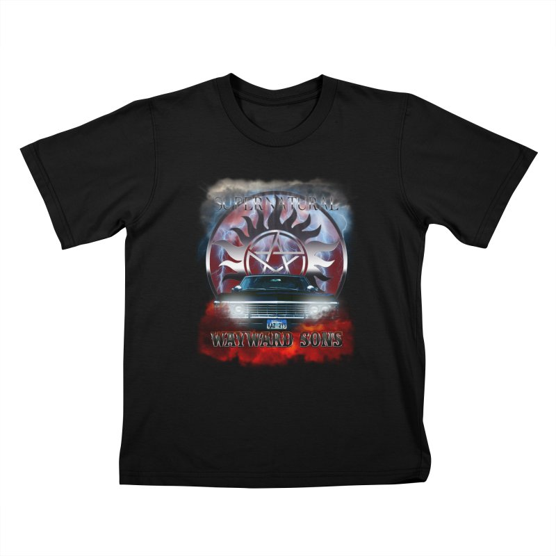 Supernatural WayWard Sons Theme Kids T-shirt by ratherkool's Artist Shop