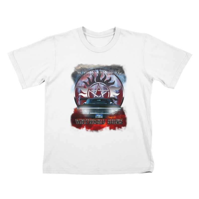Supernatural WayWard Sons Theme Kids T-shirt by ratherkool's Artist Shop