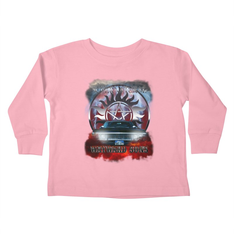 Supernatural WayWard Sons Theme Kids Toddler Longsleeve T-Shirt by ratherkool's Artist Shop