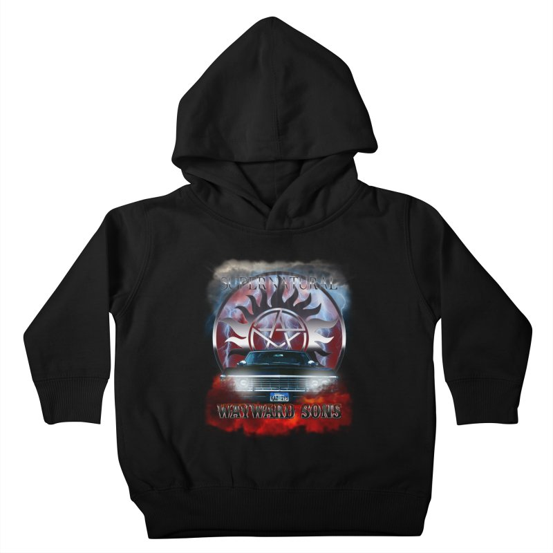 Supernatural WayWard Sons Theme Kids Toddler Pullover Hoody by ratherkool's Artist Shop