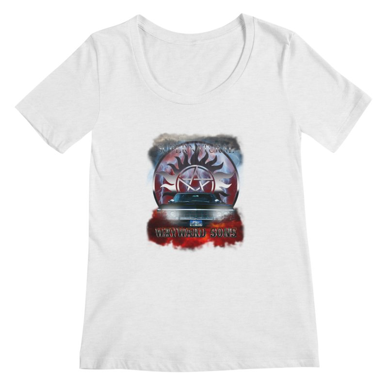 Supernatural WayWard Sons Theme Women's Scoopneck by ratherkool's Artist Shop