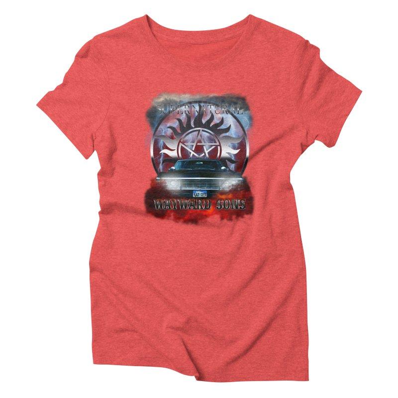Supernatural WayWard Sons Theme Women's Triblend T-shirt by ratherkool's Artist Shop