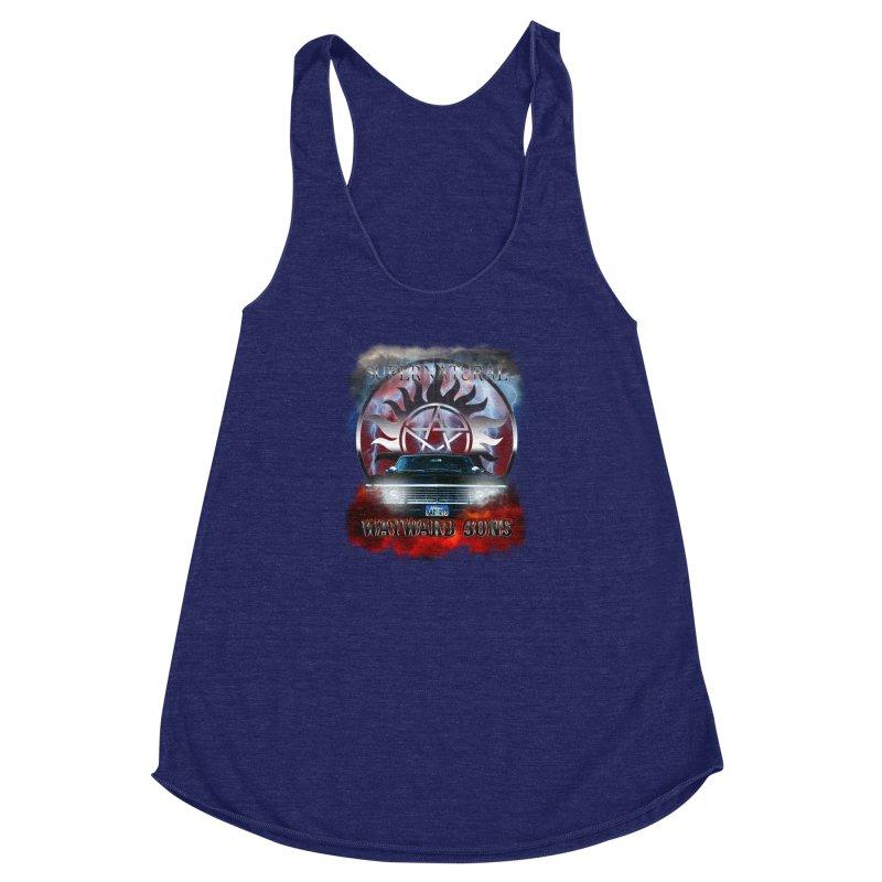 Supernatural WayWard Sons Theme Women's Racerback Triblend Tank by ratherkool's Artist Shop