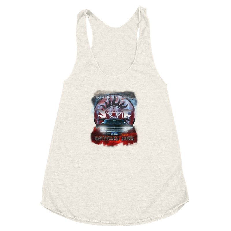 Supernatural WayWard Sons Theme Women's Racerback Triblend Tank by ratherkool's Artist Shop