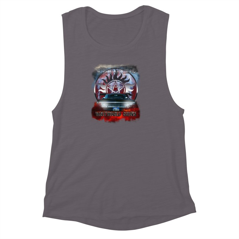 Supernatural WayWard Sons Theme Women's Muscle Tank by ratherkool's Artist Shop