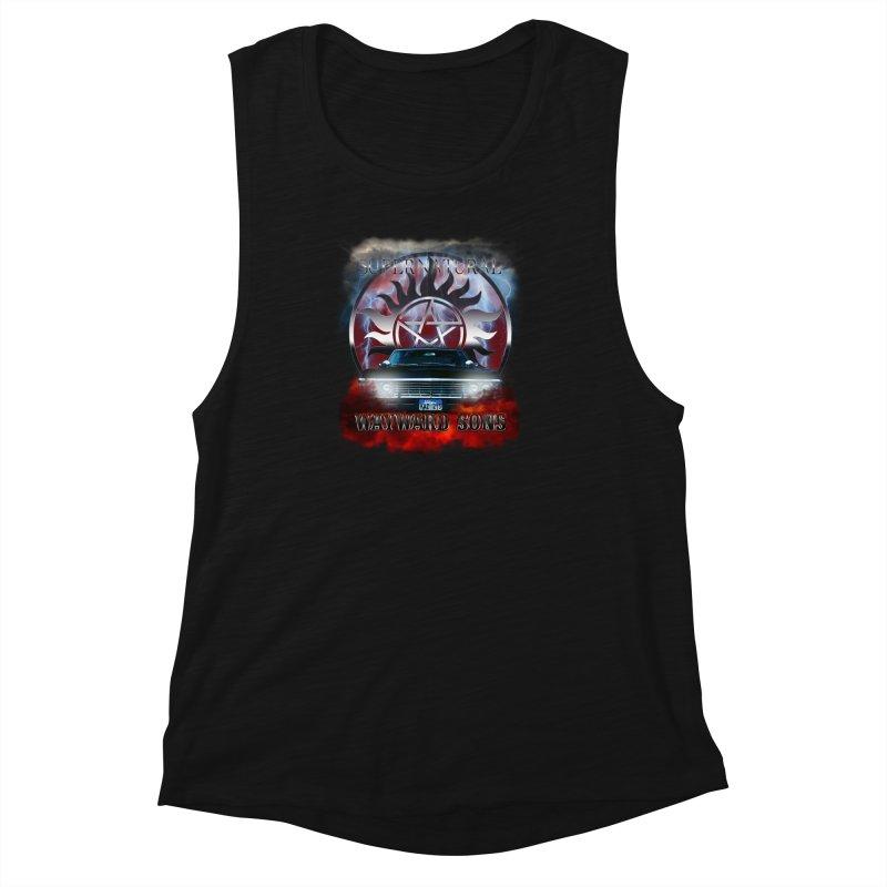 Supernatural WayWard Sons Theme Women's Muscle Tank by ratherkool's Artist Shop