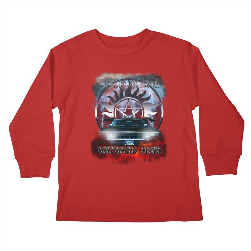 Supernatural WayWard Sons Theme Kids Longsleeve T-Shirt by ratherkool's Artist Shop