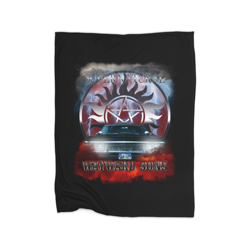 Supernatural WayWard Sons Theme Home Blanket by ratherkool's Artist Shop