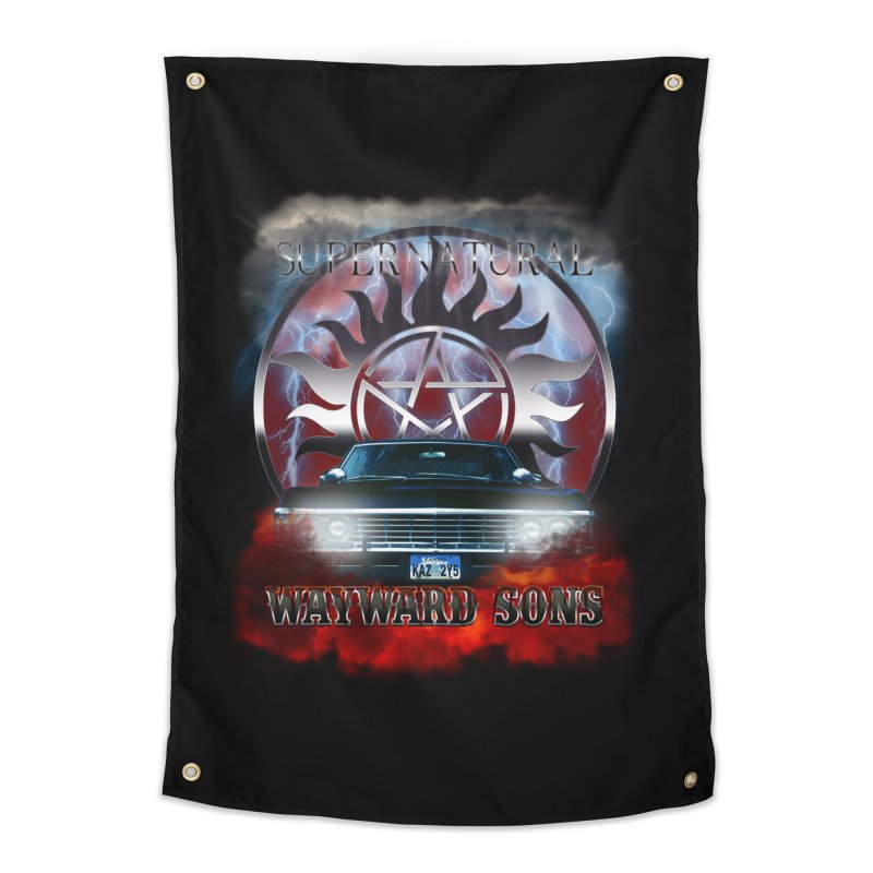 Supernatural WayWard Sons Theme Home Tapestry by ratherkool's Artist Shop