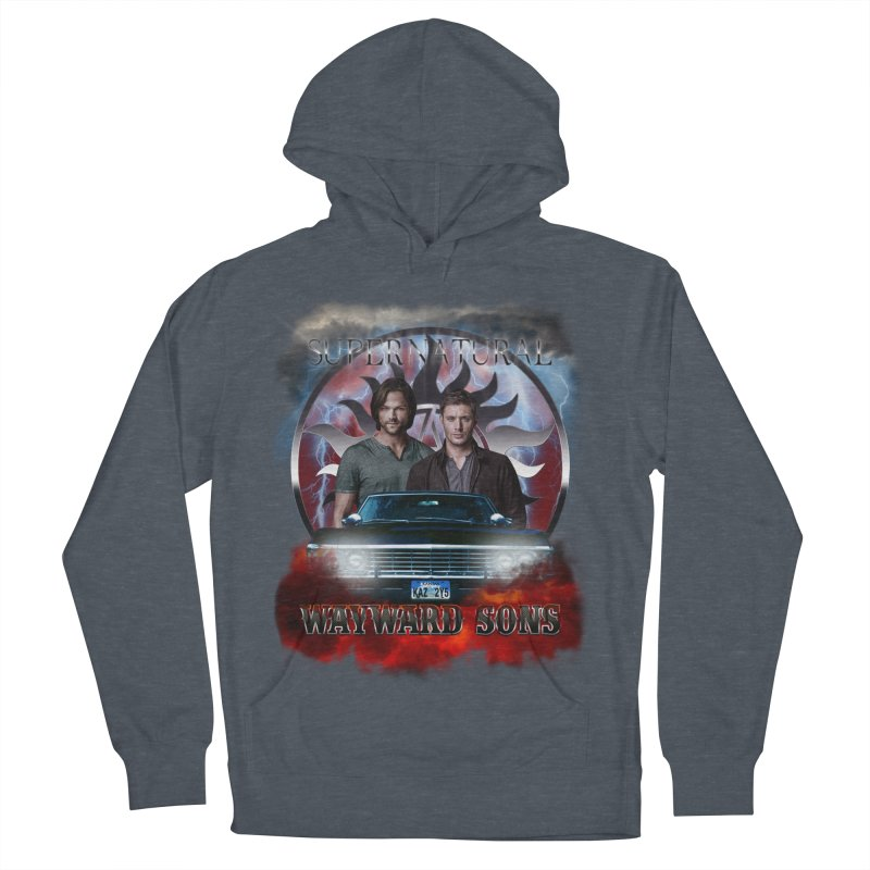 Supernatural WayWard Sons Theme 4 Men's Pullover Hoody by ratherkool's Artist Shop