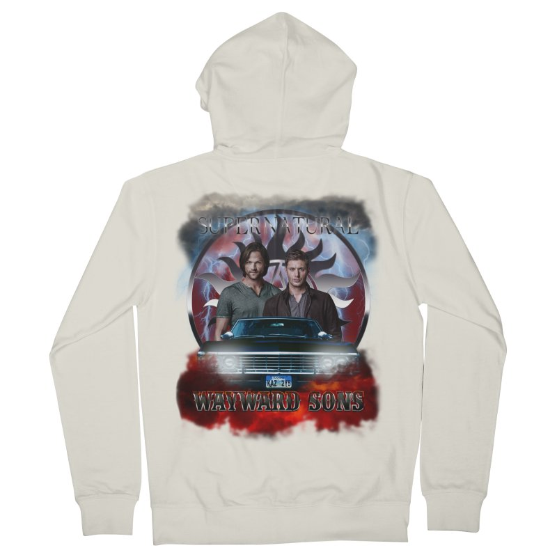 Supernatural WayWard Sons Theme 4 Women's Zip-Up Hoody by ratherkool's Artist Shop