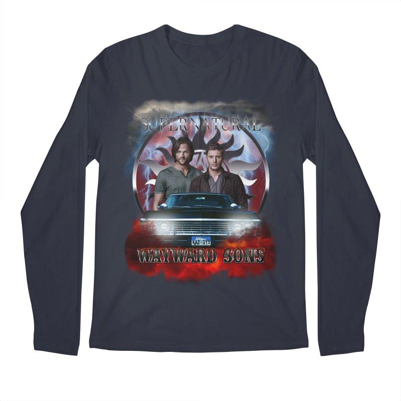 Supernatural WayWard Sons Theme 4 Men's Longsleeve T-Shirt by ratherkool's Artist Shop