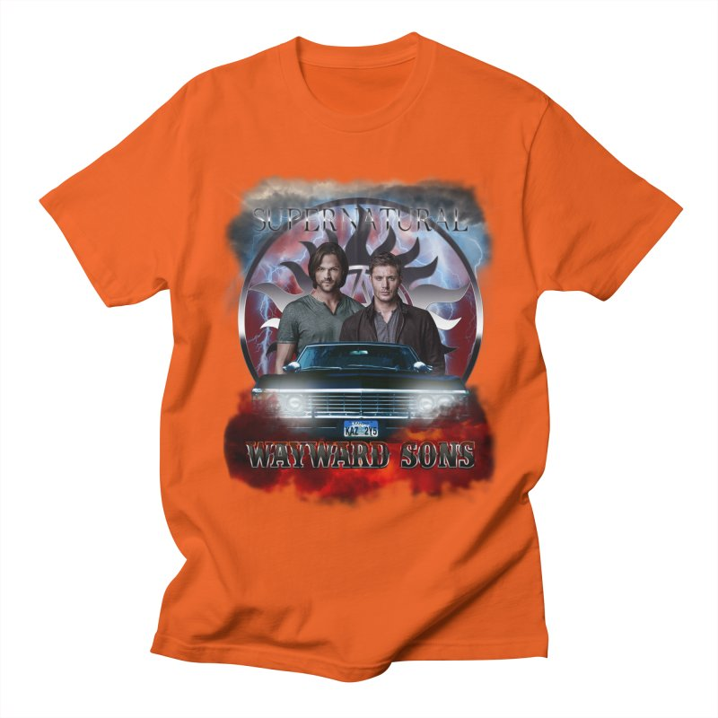 Supernatural WayWard Sons Theme 4 Men's T-shirt by ratherkool's Artist Shop