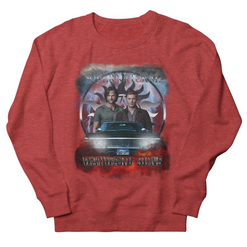 Supernatural WayWard Sons Theme 4 Men's Sweatshirt by ratherkool's Artist Shop