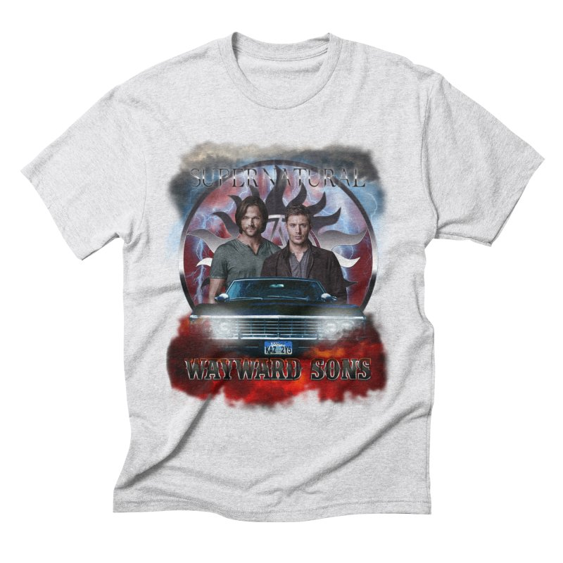Supernatural WayWard Sons Theme 4 Men's Triblend T-Shirt by ratherkool's Artist Shop