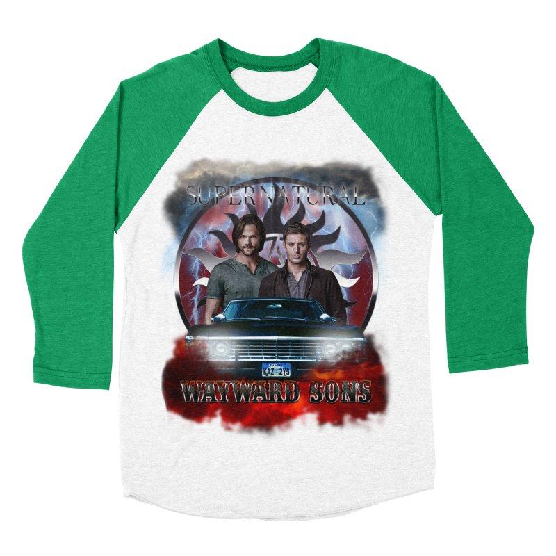 Supernatural WayWard Sons Theme 4 Women's Baseball Triblend T-Shirt by ratherkool's Artist Shop