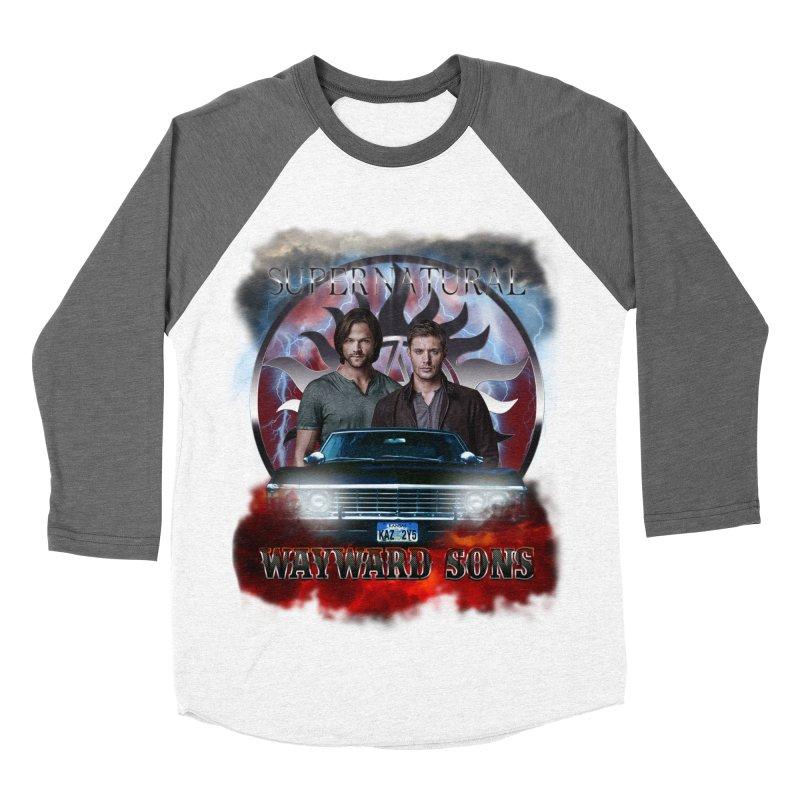 Supernatural WayWard Sons Theme 4 Men's Baseball Triblend T-Shirt by ratherkool's Artist Shop