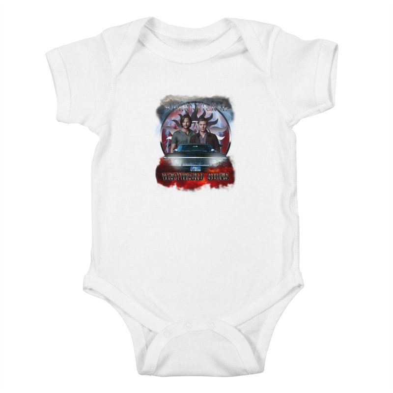 Supernatural WayWard Sons Theme 4 Kids Baby Bodysuit by ratherkool's Artist Shop