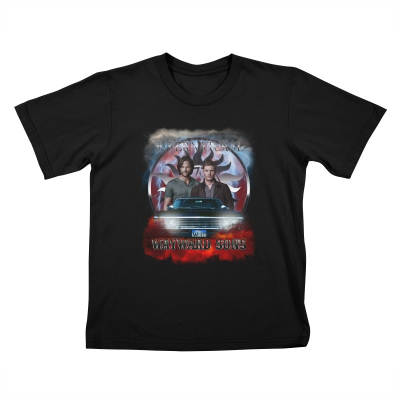 Supernatural WayWard Sons Theme 4 Kids T-shirt by ratherkool's Artist Shop
