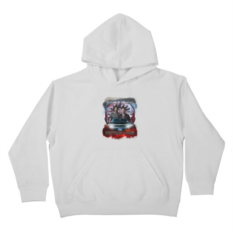 Supernatural WayWard Sons Theme 4 Kids Pullover Hoody by ratherkool's Artist Shop