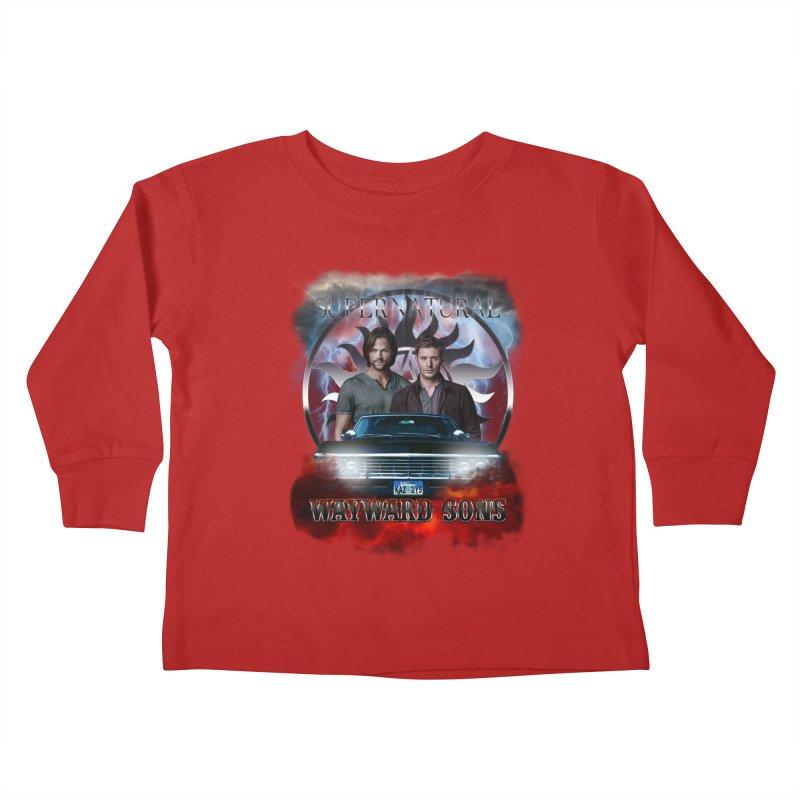 Supernatural WayWard Sons Theme 4 Kids Toddler Longsleeve T-Shirt by ratherkool's Artist Shop