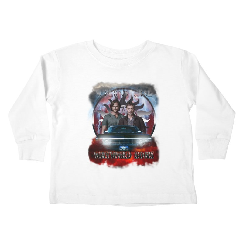 Supernatural WayWard Sons Theme 4 Kids Toddler Longsleeve T-Shirt by ratherkool's Artist Shop