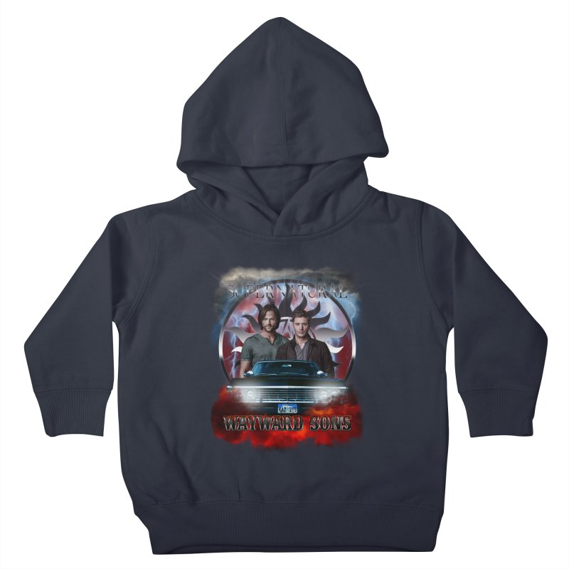 Supernatural WayWard Sons Theme 4 Kids Toddler Pullover Hoody by ratherkool's Artist Shop
