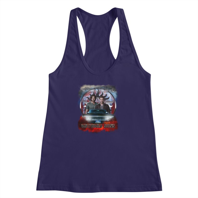 Supernatural WayWard Sons Theme 4 Women's Racerback Tank by ratherkool's Artist Shop
