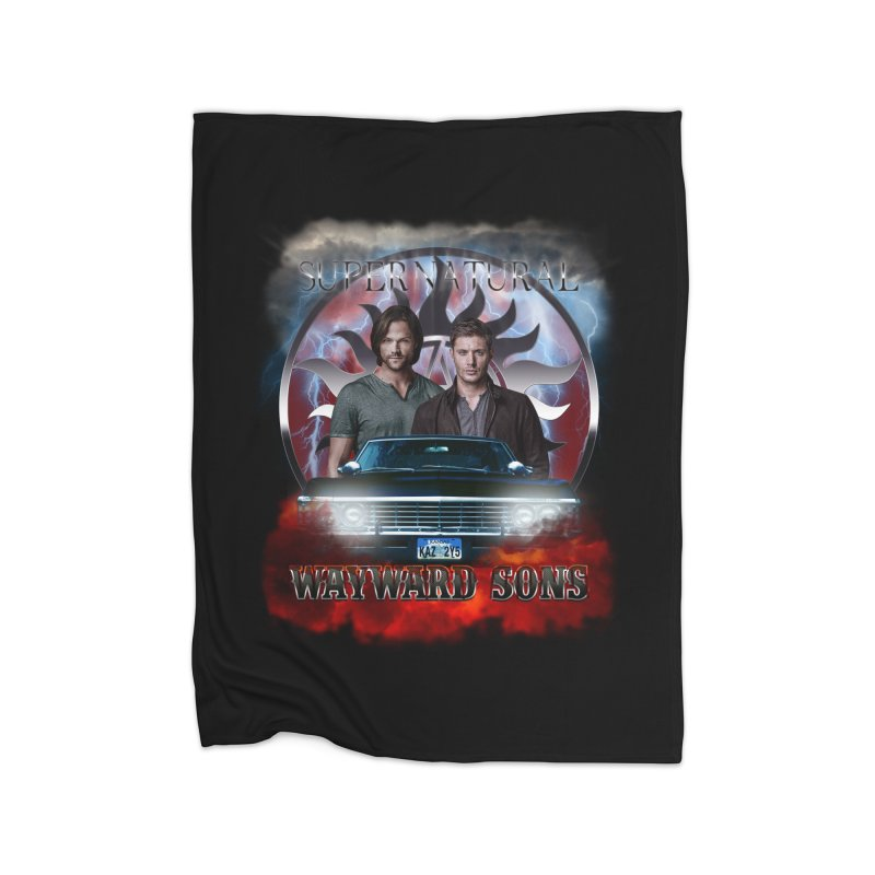 Supernatural WayWard Sons Theme 4 Home Blanket by ratherkool's Artist Shop