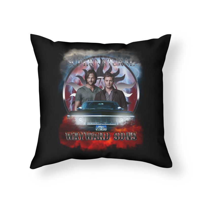 Supernatural WayWard Sons Theme 4 Home Throw Pillow by ratherkool's Artist Shop
