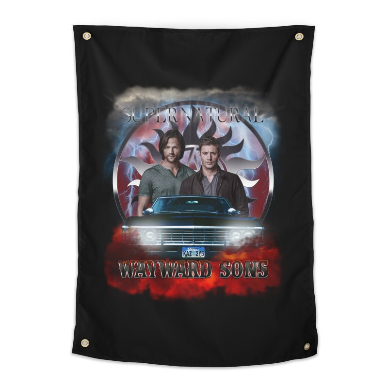 Supernatural WayWard Sons Theme 4 Home Tapestry by ratherkool's Artist Shop