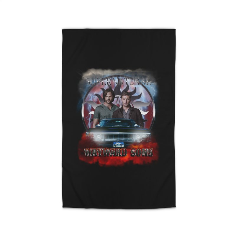 Supernatural WayWard Sons Theme 4 Home Rug by ratherkool's Artist Shop
